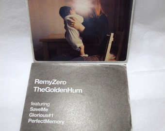 Remy Zero Sticker The Golden Hum Album Artwork Band Logo Square Sticker