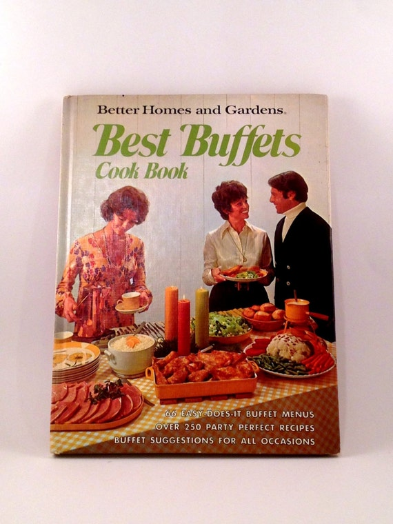 Better Homes And Gardens Best Buffet Cook Book Vintage
