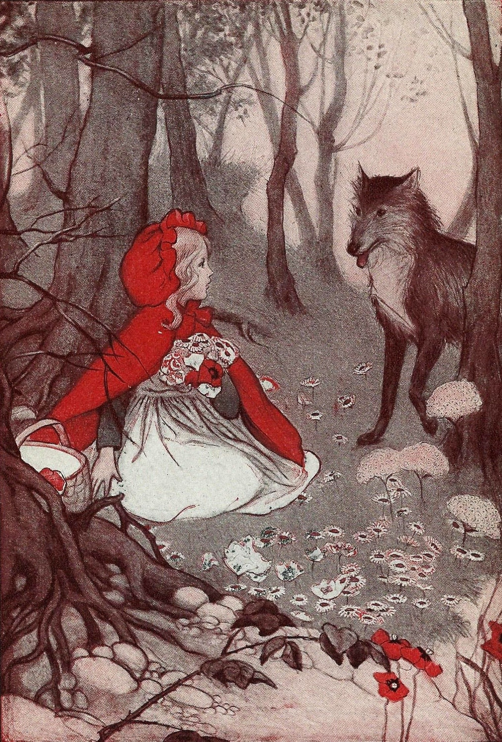 Vintage Porn Little Red Riding Hood - Sex Archive-3368