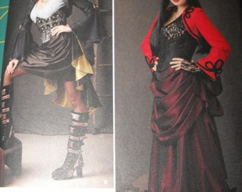 Custom made Steampunk Womens Plus Size Costume
