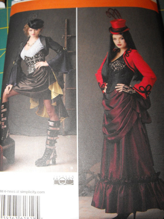 Custom Made Steampunk Womens Plus Size Costume By