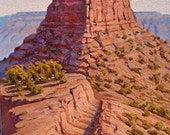 Arizona - 'O'Neill Butte - Kaibab Trail' - Grand Canyon - original Landscape Painting - desert - western - Southwest art - impressionist