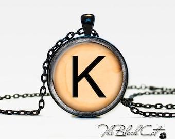 Vintage Typewriter Key pendant Vintage Typewriter Key necklace Vintage Typewriter Key jewelry