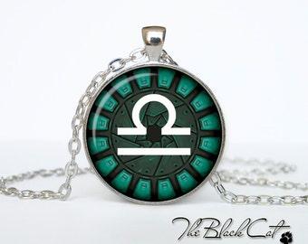 LIbra Pendant Libra Necklace, Zodiac Sign Pendant, Constellation Jewelry