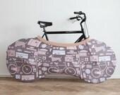 Indoor Bike Cover / Keep bike indoors and home clean / Free Worldwide Shipping! / Hary