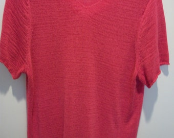 Women's Hot Pink Sweater size 18 - ready to ship