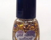 Mini 5 ml Good Morning Sunflower handcrafted nail polish