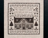 Every House (Instant download Cross Stitch pattern pdf)