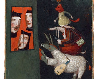 Grimm Tales/The Musicians of Bremen - 22X29cm