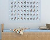 National Cycling Jerseys Print (A1)