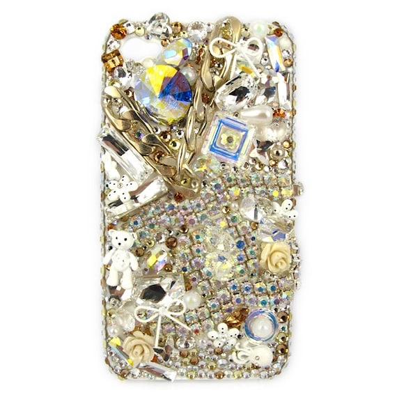 luxury chain swarovski elements crystal Iphone 5/4s/4 Samsung Galaxy S3/Note2 cases cover
