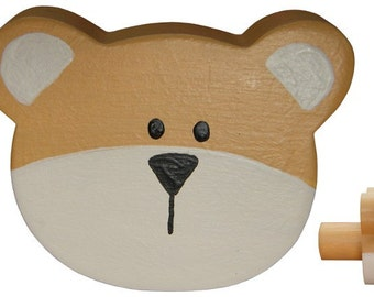 Teddy Bear Drawer Knob - Classic Teddy Drawer Pull