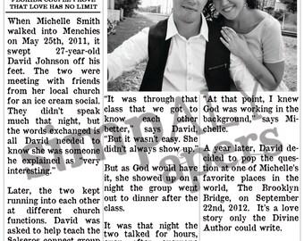 newspaper wedding program template free - Ideal.vistalist.co