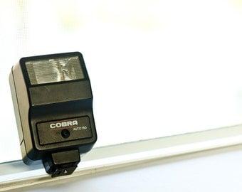 Camera flash Cobra Auto 150 - Vintage camera Flash - photography accessories