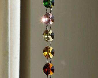 40 mm Crystal Sphere Suncatcher Rainbow Feng Shui Chakra Window Deco Meditation