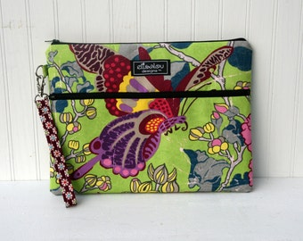 Apple iPad Bag Padded Pouch- Butterfly Garden