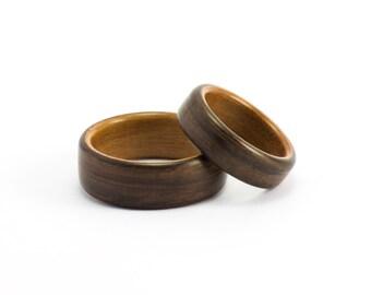 Bentwood Wedding Rings, Wood Liner Rings, Wooden Rings, Wood Rings, Wood Wedding Bands, Wedding Ring Set, Bentwood Bands, Wood Wedding Rings