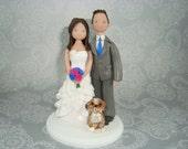 Customized Handmade Wedding Cake Topper