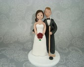 Custom Made Hockey Theme Wedding Cake Topper