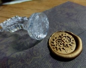 Clockwork Coupling - Wax Stamper - Perfect For Your Steampunk Wedding