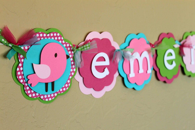 Resultado de imagen para baby shower birds decoration