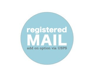 Registered Mail for International Customers . via United States Postal Service
