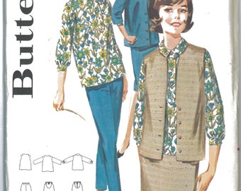 2857 UNCUT 1960's Maternity Sewing Patterns Butterick 2857 Bust 34