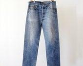 1980s Levi's 501 denim jeans, waist 35