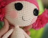 PATTERN: Crochet Amigurumi Doll