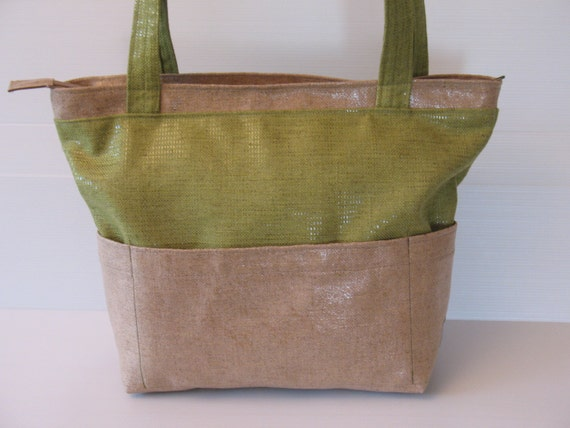 Items similar to vegan purse, outside pockets over the ...
