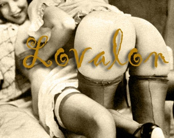 MATURE... Girls At Play... Deluxe Erotic Art Print... Vintage Nude Photo... Available In Various Sizes