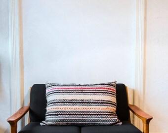 rag rug cushion No.2