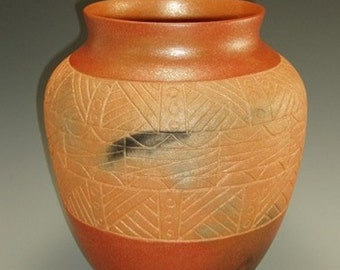 Incised Vase