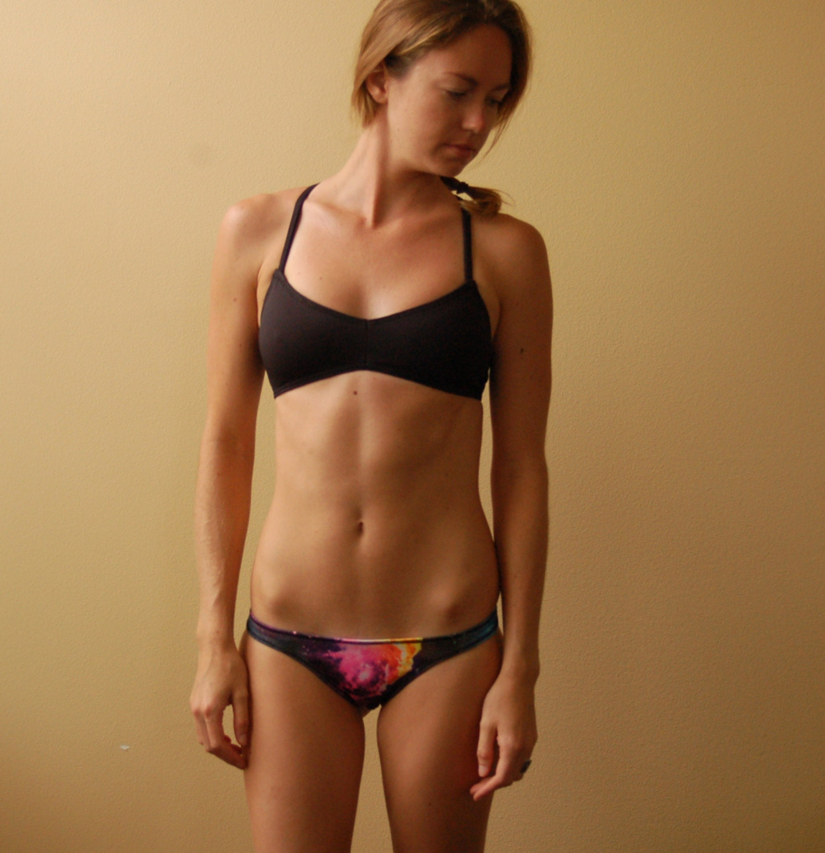 The 'Inlet' Cross-Back Surf Bikini Top Choose by ...