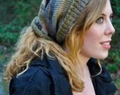 Foggy Meadow Shape Shifter: Dread Beanie Hat scarf