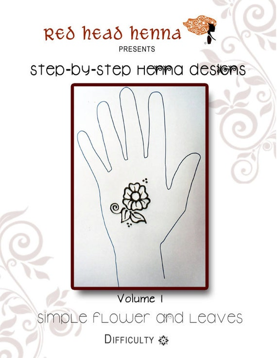 Mehndi Flower Designs Step By Step : Pdf design book step by henna designs volume i simple