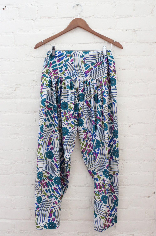 Cool 2015 Plaid Women Harem Pants Classic Stylish Casual Loose Pants Street