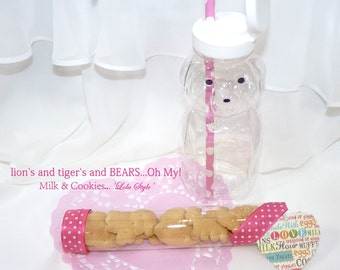 "NEW 6"" CLEAR PlastIc TUBES -CaNdY Clear PlaStiC FaVor Tubes (set of 24)  1"" wide Gumballs,  CaNdy , NoVeLtY ToYs, Party Favors"