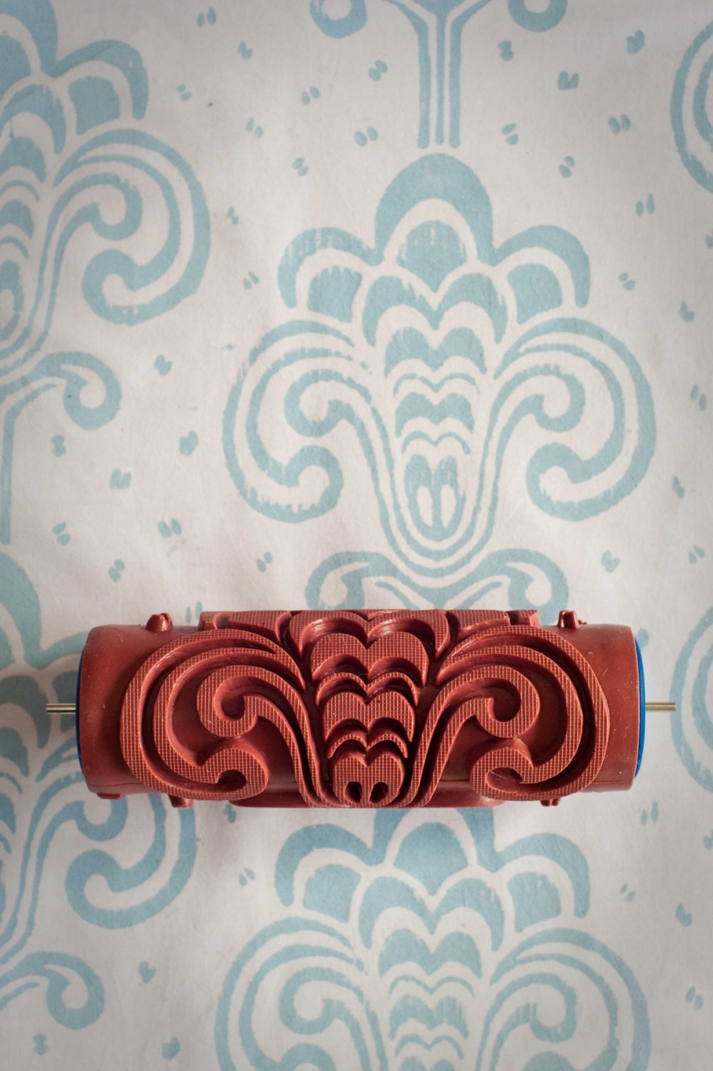 No 13 Patterned Paint Roller From The Painted House Interiors Inside Ideas Interiors design about Everything [magnanprojects.com]
