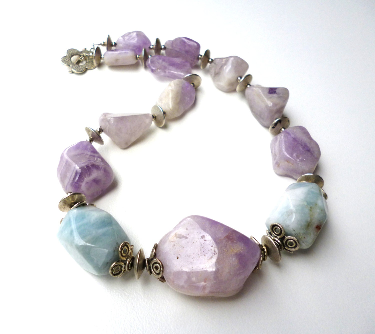amethyst stone necklace - photo #26
