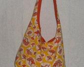 Mushroom Hippy Sling Bag's