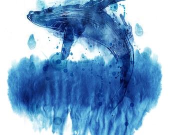 A Leap For Joy (Whale, Ocean)