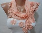 So Soft Cotton Scarf Shawl Peach Cowl Scarf Mothers Day Gift Salmon Spring Summer Fall Fashion Scarf Women Fashion Accessories ScarfClub