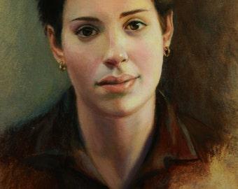 Malena - oil on canvas