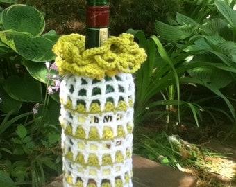 Handmade (Crochet) Wine Wraps