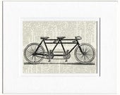 bicycle built for two print