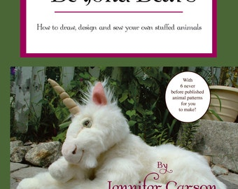 Back in Stock-Beyond Bears, how to draw, design and sew your own jointed animals and creatures, book