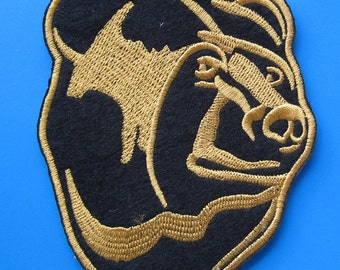 SALE~ Iron-on embroidered Patch Bear 4.5 inch