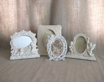 Cherub Frame Collection for Wedding or Home Decor /  Eclectic Frame & Mirror Collection