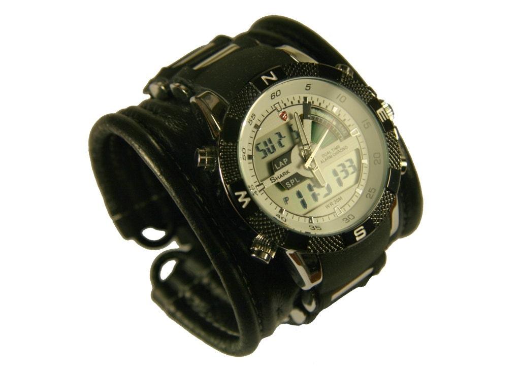 Men's Wrist Watch leather bracelet Tour SALE Worldwide by ...